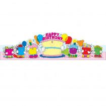 CD-0232 - Birthday Crowns 2-Tier Cake 30/Pk in Crowns
