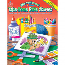 CD-0499 - Take-Home Bible Stories New Testament Gr Pk-2 in Inspirational