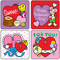CD-0647 - Stickers Valentines Day 120/Pk Acid Lignin Free in Holiday/seasonal