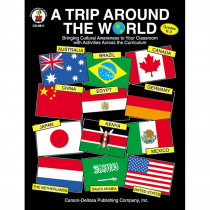 CD-0811 - A Trip Around The World Gr K-3 in Geography