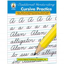 CD-0888 - Traditional Handwriting Cursive Practice Book in Handwriting Skills