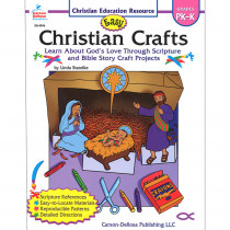 CD-0996 - Easy Christian Crafts Gr Pk-K in Inspirational
