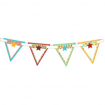 CD-102043 - Hipster Bunting Banner in Banners