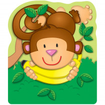 CD-103028 - Monkey Bookmarks 12Pk in Bookmarks