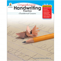 CD-104250 - Comprehensive Handwriting Practice Traditional Cursive in Handwriting Skills