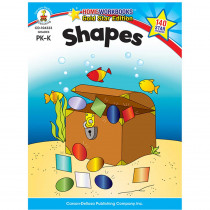 CD-104333 - Shapes Home Workbook Gr Pk-K in Skill Builders