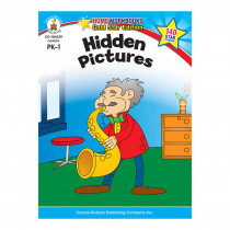 CD-104339 - Hidden Pictures Home Workbook Gr Pk-1 in Skill Builders