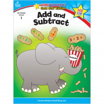 CD-104361 - Add & Subtract Home Workbook Gr 1 in Addition & Subtraction