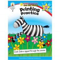 CD-104364 - Printing Practice Home Workbook Gr 2 in Handwriting Skills