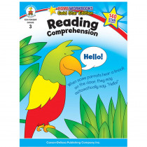CD-104369 - Reading Comprehension Home Workbook Gr 3 in Comprehension