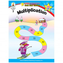 CD-104371 - Multiplication Home Workbook Gr 3 in Multiplication & Division