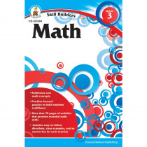 CD-104394 - Skill Builders Math Gr 3 in Activity Books