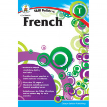 CD-104402 - Skill Builders French Level 1 Gr K-5 in Foreign Language