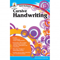 CD-104409 - Skill Builders Cursive Handwriting in Handwriting Skills