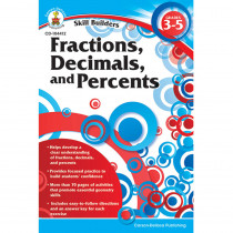 CD-104412 - Skill Builders Fractions Decimals & Percents in Fractions & Decimals
