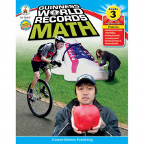 CD-104417 - Guinness World Records Math Gr 3 in Activity Books