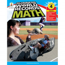 CD-104418 - Guinness World Records Math Gr 4 in Activity Books