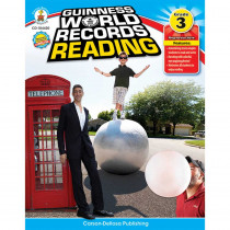CD-104420 - Guinness World Records Reading Gr 3 in Activities