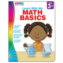 CD-104443 - Spectrum Learn With Me Math Basics in Activity Books
