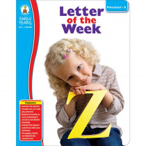 CD-104449 - Early Years Letter Of The Week in Language Arts