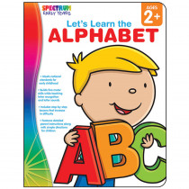 CD-104459 - Lets Learn The Alphabet Spectrum Early Years in Language Arts