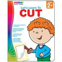 CD-104460 - Lets Learn To Cut Spectrum Early Years in Gross Motor Skills