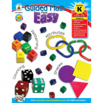 CD-104541 - Guided Math Made Easy Gr K in Activity Books