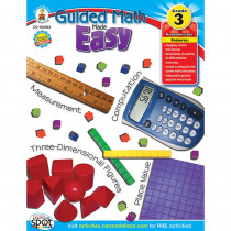 CD-104563 - Guided Math Made Easy Gr 3 in Activity Books