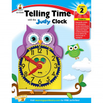 CD-104588 - Telling Time With Judy Clock Gr 2 in Time