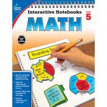 CD-104650 - Interactive Notebooks Math Gr 5 in Math