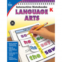 CD-104651 - Interactive Notebooks Gr K Language Arts in Language Arts
