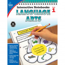 CD-104652 - Interactive Notebooks Gr 1 Language Arts in Language Arts