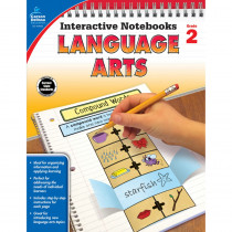 CD-104653 - Interactive Notebooks Gr 2 Language Arts in Language Arts