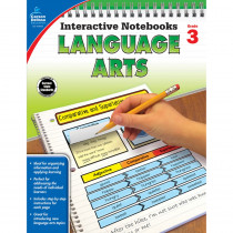 CD-104654 - Interactive Notebooks Gr 3 Language Arts in Language Arts