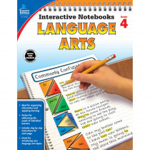 CD-104655 - Interactive Notebooks Gr 4 Language Arts in Language Arts
