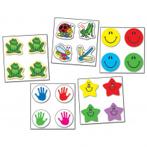 CD-1046 - Chart Seal Variety Pack 4050 Seals in Stickers