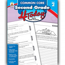 CD-104819 - Second Grade 4 Today Commone Core in Cross-cirriculum