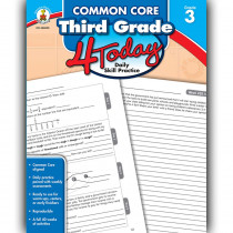 CD-104820 - Third Grade 4 Today Common Core in Cross-cirriculum
