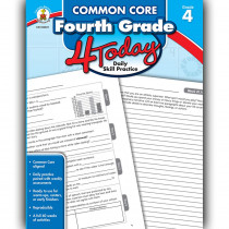 CD-104821 - Fourth Grade 4 Today Common Core in Cross-cirriculum