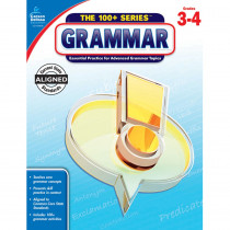 CD-104836 - 100 Plus Grammar Gr 3-4 in Grammar Skills