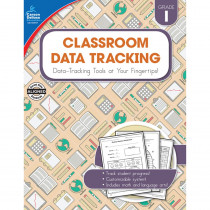 CD-104917 - Classroom Data Tracking Gr 1 in Teacher Resources