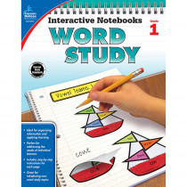 CD-104947 - Word Study Book Grade 1 in Activities