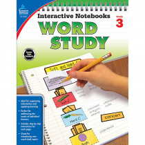 CD-104949 - Word Study Book Grade 3 in Activities