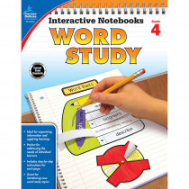 CD-104950 - Word Study Book Grade 4 in Activities