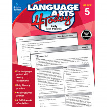 CD-104981 - Language Arts 4 Today Gr 5 in Activities