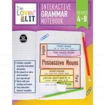 CD-105004 - Im Lovin Lit Grammar Notebk Gr 4-8 Interactive in Grammar Skills