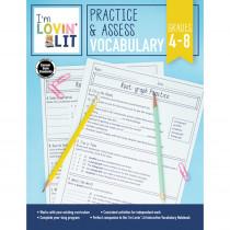 CD-105005 - Im Lovin Lit Vocabulary Gr 4-8 Practice & Assess in Vocabulary Skills