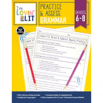 CD-105007 - Im Lovin Lit Grammar Gr 6-8 Practice & Assess in Grammar Skills