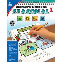CD-105014 - Interactive Notebooks Seasonal Gr 1 in Cross-curriculum Resources