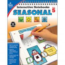 CD-105018 - Interactive Notebooks Seasonal Gr 5 in Cross-curriculum Resources